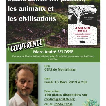 Conférence (+ formation) de Marc-André Selosse